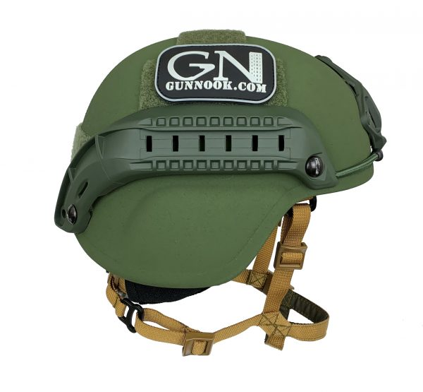Olive Drab Full Cut Rifle-Resistant Helmet