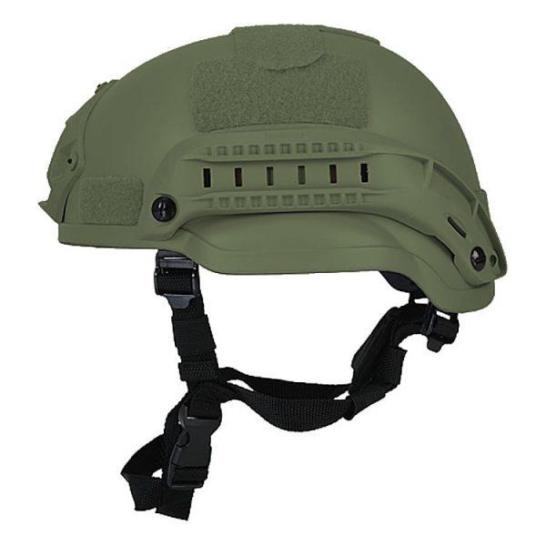 Olive Drab Mid Cut Rifle-Resistant Helmet
