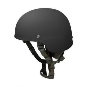 Black Full Cut Rifle-Resistant Helmet