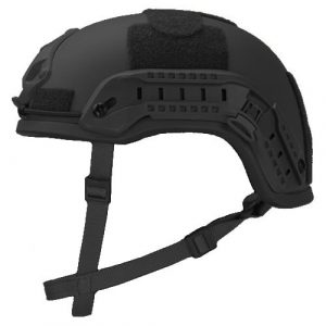 Black High Cut Rifle-Resistant Helmet