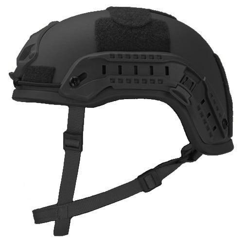 Black High Cut Rifle-Resistant Helmet