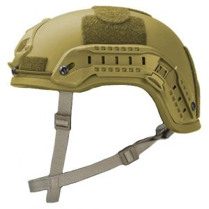 Coyote Brown High Cut Rifle-Resistant Helmet