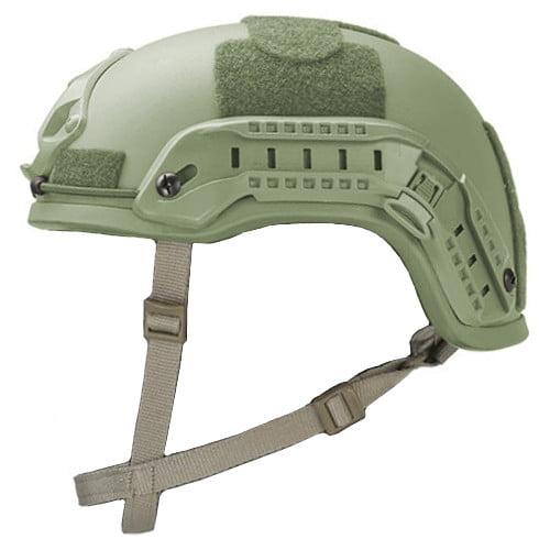 Foliage Green High Cut Rifle-Resistant Helmet