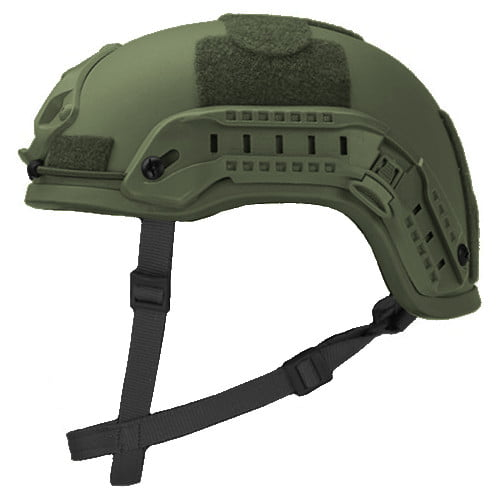 Olive Drab High Cut Rifle-Resistant Helmet