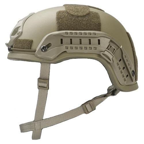 Desert Tan High Cut Rifle-Resistant Helmet