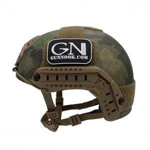 GunNook Standard Ballistic Helmet (S.B.H.) ATACS FG