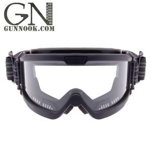 Black Clear OTG Ballistic Goggles