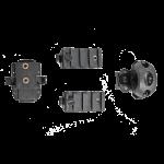 4 Pack Helmet Rail Accessories