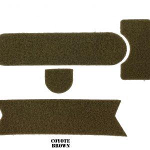 Coyote Brown Combat Helmet Adhesive