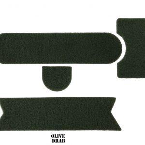 Olive Drab Combat Helmet Adhesive