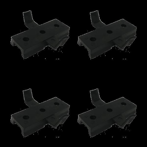 Helmet Rail System Drop-In Wing-Loc Adapter