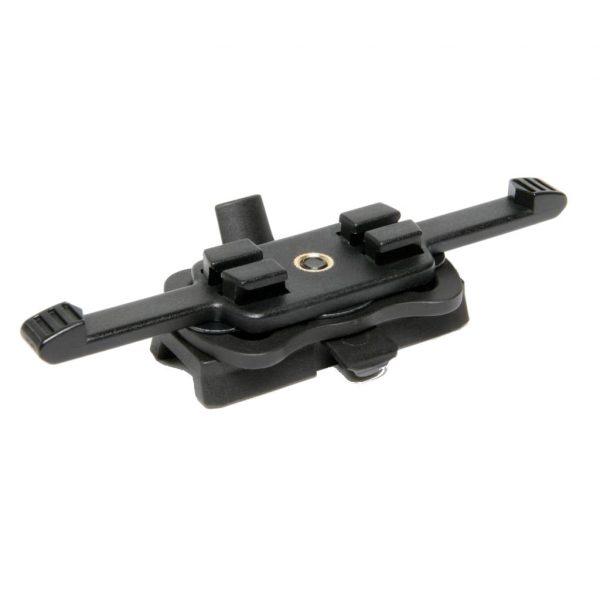 Black Contour™ HD Helmet Rail Camera Adapter