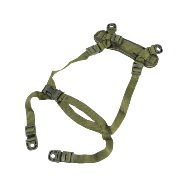 Olive Drab H-HARNESS 4-POINT CHINSTRAP