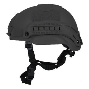 Black Mid Cut Rifle-Resistant Helmet