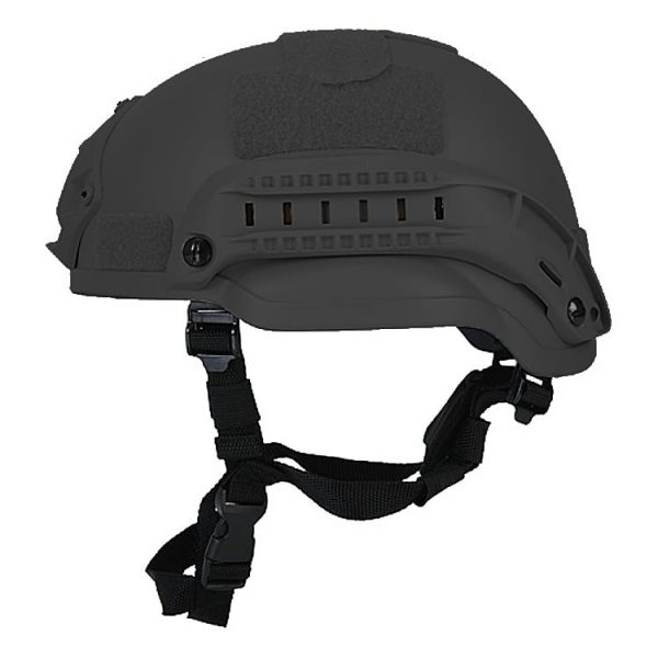 Black Mid Cut Rifle-Resistant Helmet
