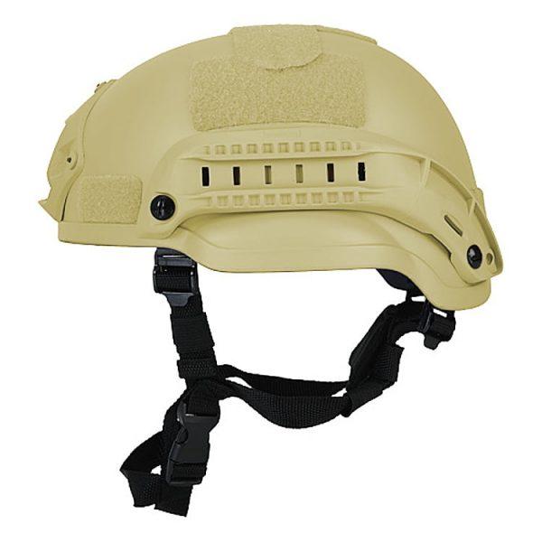 Desert Tan Mid Cut Rifle-Resistant Helmet