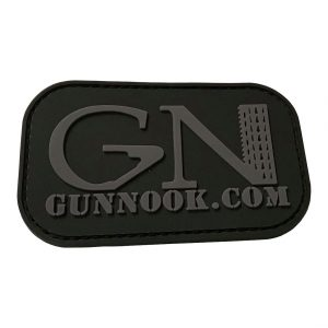 GunNook Official Stealth Logo PVC Morale Patch
