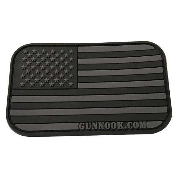 GunNook USA American Stealth Flag PVC Morale Patch