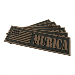 GunNook 'Murica PVC Flag Morale Patch