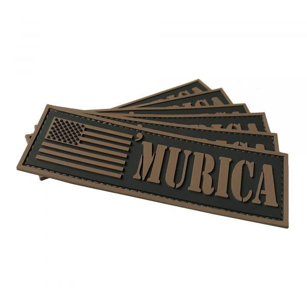 GunNook 'Murica PVC Flag Morale Patch
