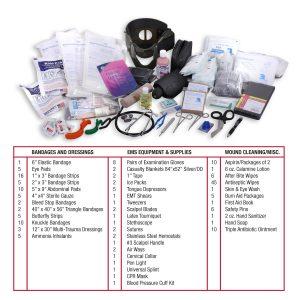 EMT Medical Trauma Kit