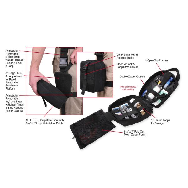 Drop Leg Medical Pouch