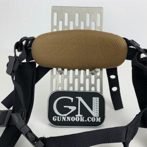 GUNNOOK Dial Retention III 4 Point Ballistic Helmet Retention System Black