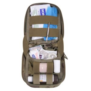 GunNook MOLLE MultiCam First Aid Kit inside