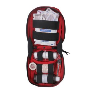 GunNook MOLLE Red First Aid Kit inside