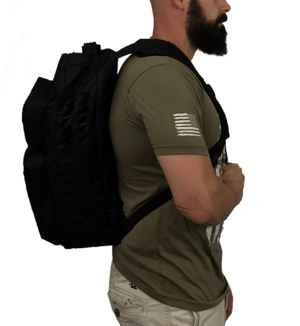 Tactical Single Sling Pack With Laser Cut MOLLE