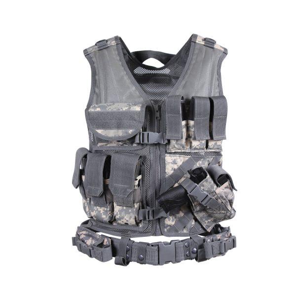 Adult Tactical Cross Draw Vest