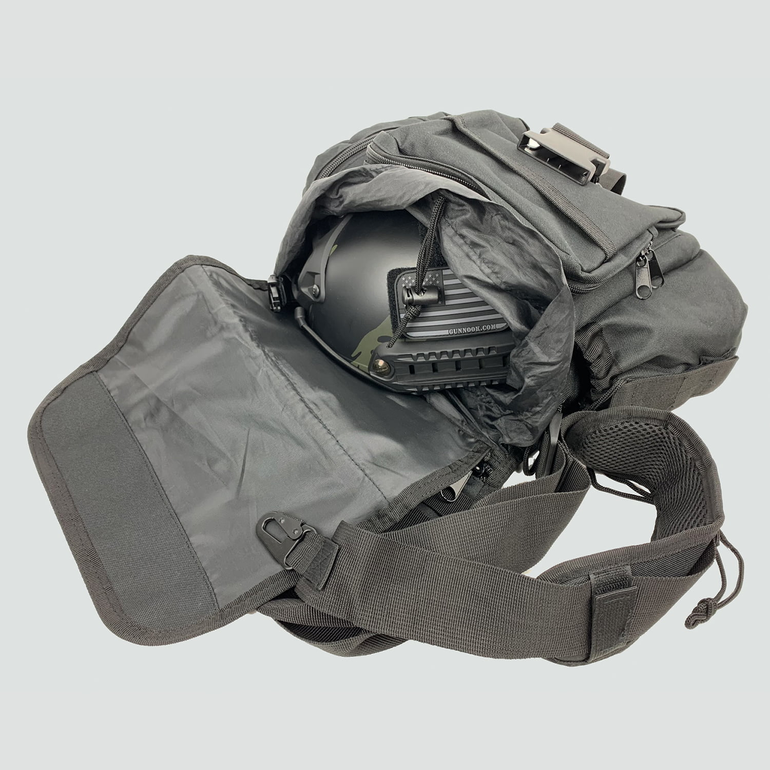 GunNook XL Advanced Tactical Helmet Shoulder Bag