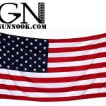 American Polyester Stars Brass Grommets Flag 3'x5'