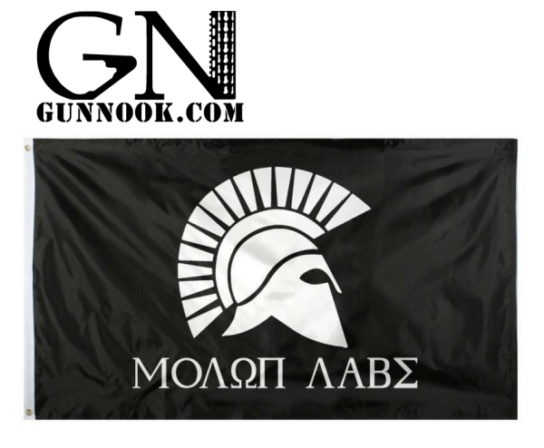 GUNNOOK Molon Labe Come and Take It,