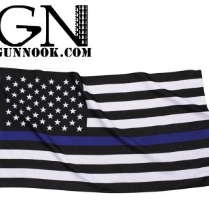 GunNook Thin Blue Line American Flag