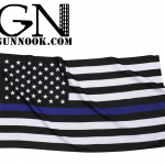 U.S. Thin Blue Line American Flag