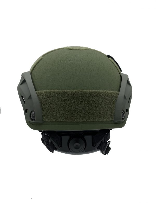 GunNook OD ACH-505-S Ballistic Helmet – High Cut ACH/MICH 2001 MADE IN US