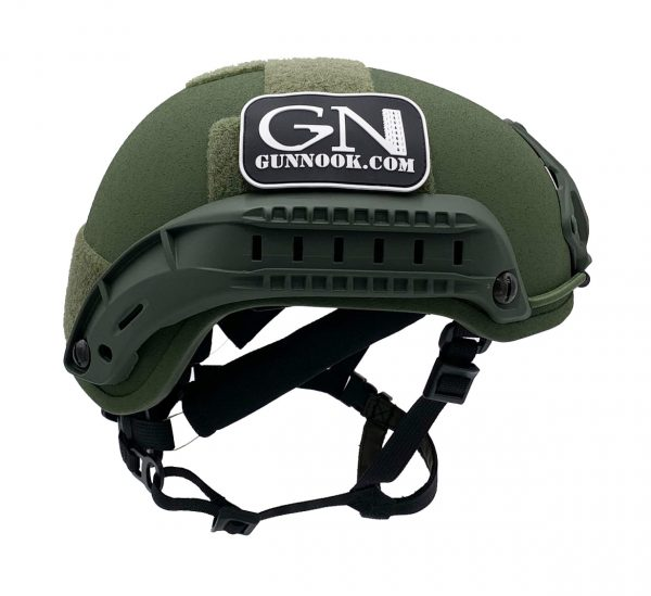 GunNook OD ACH-505-S Ballistic Helmet – High Cut ACH/MICH 2001 MADE IN US