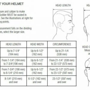 US Helmets Head Sizes