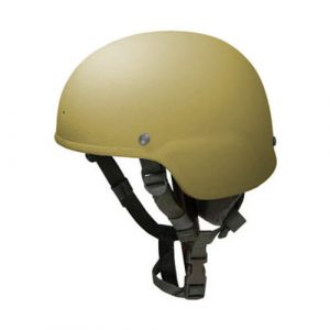 Coyote Brown Full Cut Rifle-Resistant Helmet