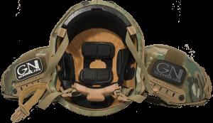 Inside of SBH Helmet