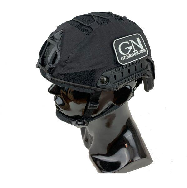 GN-ATHC - GunNook Advanced Tactical Helmet Cover - Black