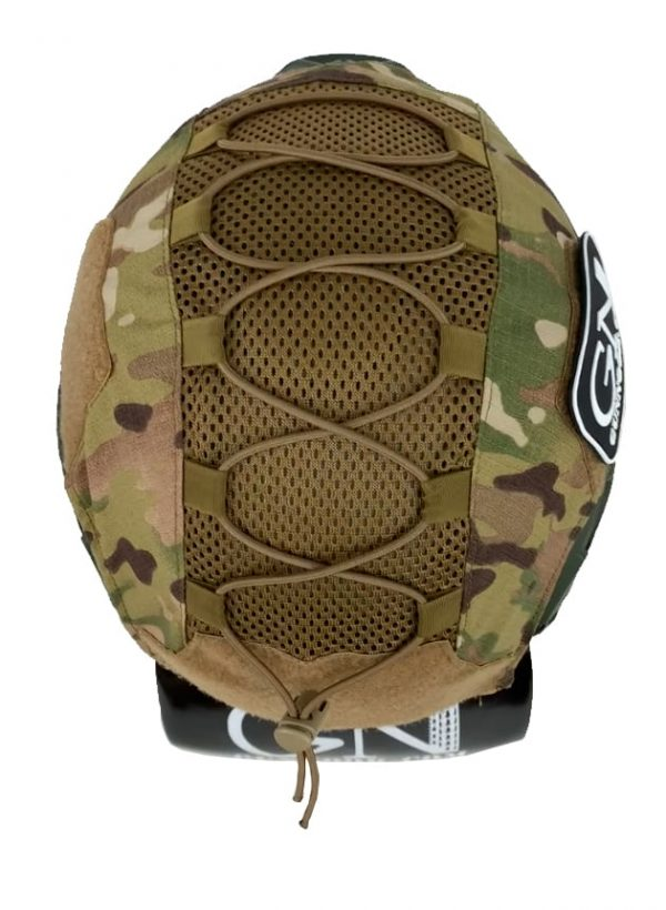 GN-ATHC - GunNook Advanced Tactical Helmet Cover - Multicam