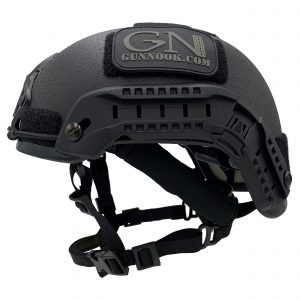 ExoSkeleton, military grade tactical BUMP helmet left view